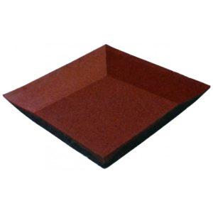 BALDOSA ESQUINA DE CAUCHO. Para baldosas de 4 cm. 6,3 kg.